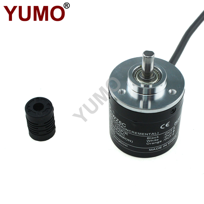 6mm 24VDC shaft incremental encoder E6B2-CWZ6C Rotary Encoder