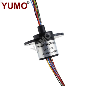 SRC022-12 22mm 12rings 2A Carbon Brush Holder Slip Ring