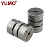 LD2-D34L45 Stainless Steel Flexible Shaft Diaphragm Coupling for Servo Motor