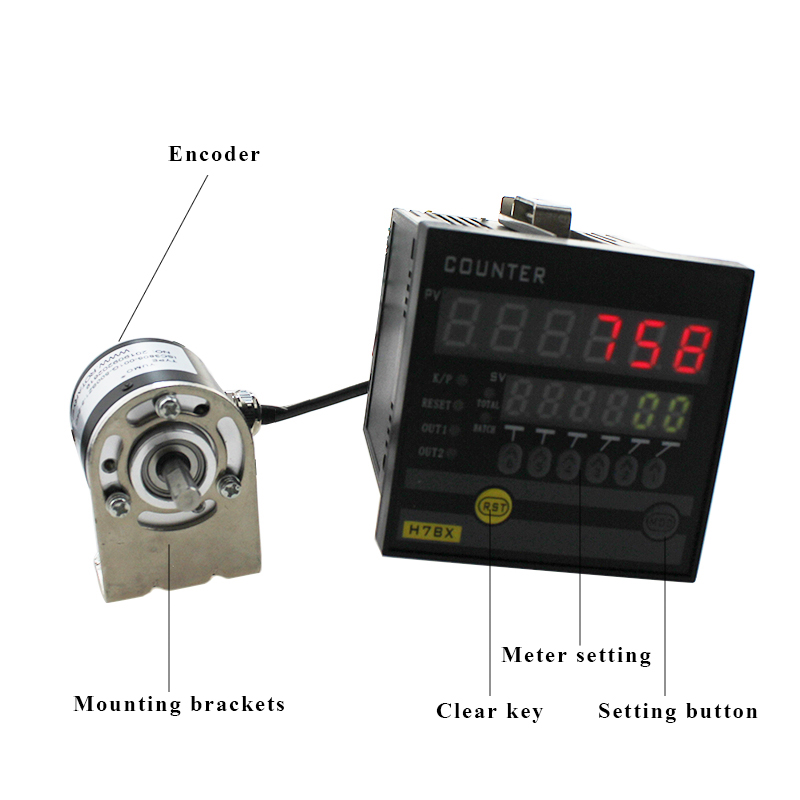 ATK72-B High Precision Measurement Length Meter Counter with Encoder