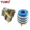 SRH20*50*59-4 Dia 50mm 4rings 40A/ring Carbon Brush Holder Slip Ring