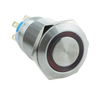 Waterproof Mini Momentary 19mm Metal Push Button