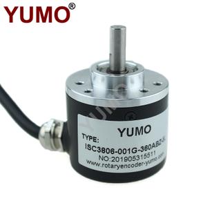 YUMO Shaft 6mm 5vdc Line Drive Output Solid-Shaft Incremental Rotary Encoder
