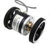 ISA5208 Solid shaft diameter 8mm; outside diameter 52mm; Encoder with meter wheel