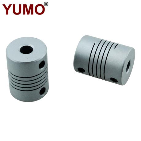 LR-D19L25 6*6 Hole Diameter Thread Type Flexible Shaft Rotary Encoder Clamp Elastic Coupling