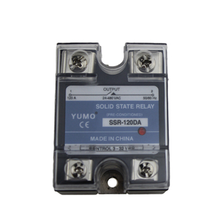 YUMO SSR-120DA DC To AC Solid State Relay