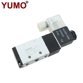 4v210-08 220VAC Single Control Plate Type Air Pneumatic Solenoid Valve
