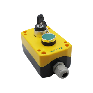 1 Key Switch And 2 Position Stay Put Push Button Control Box